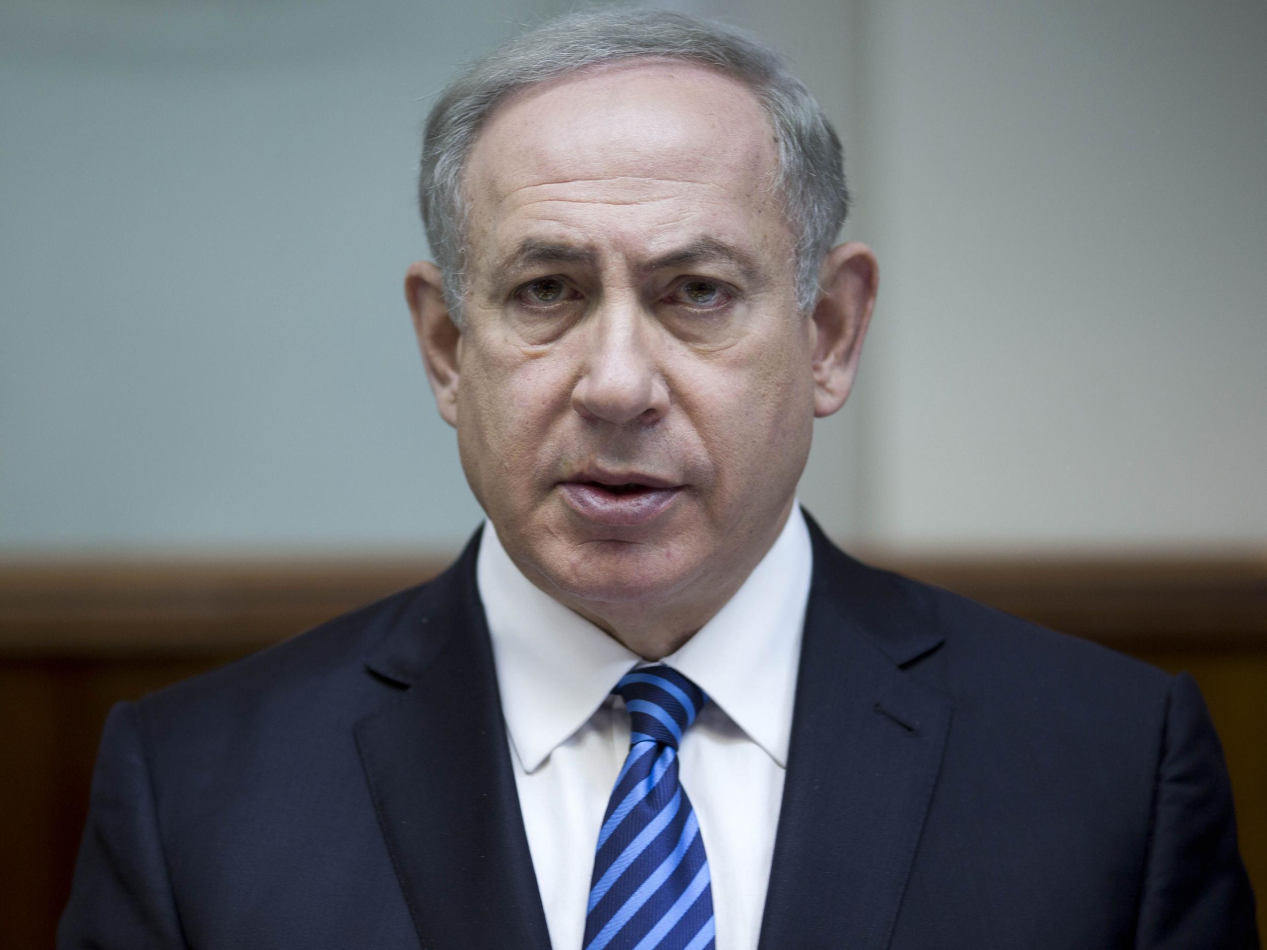 """Netanyahu: """" Suriye'de gerçekleştirilecek olan askeri harekât İsrail'in güvenlik ihtiyaçları doğrultusunda uygulamaya konulacak."""