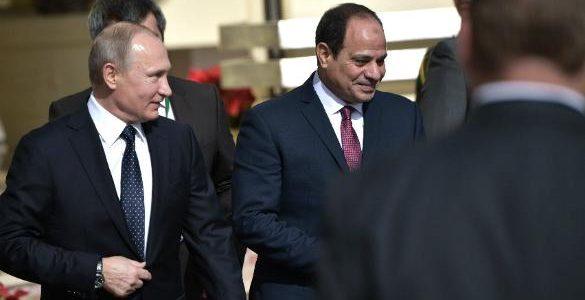 Trump Sayesinde Putin Mısır'ı Ele Geçiriyor