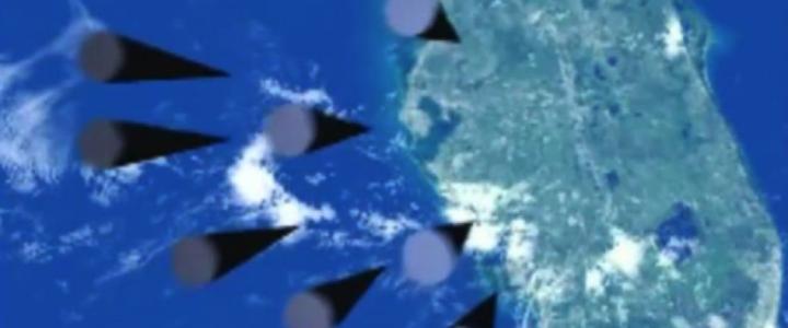 Vladimir Putin Rus Füzelerinin Florida'yı Vurduğunu Gösteren Bir Video Simülasyonu Yayınladı