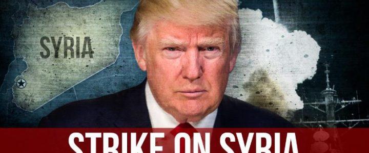 """Trump Suriye'deki Kimyasal Silahlı Saldırı ile İlgili """"Ödenecek Büyük Bir Bedel"""" Açıklamasında Bulundu"""