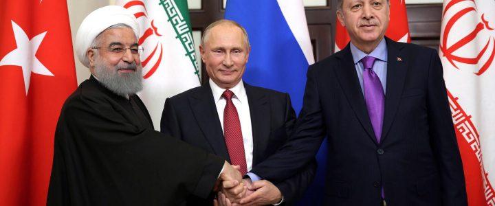 Rusya, Türkiye ve İran Suriye'de Barış İçin İşbirliğini Sürdürmeyi Kabul Etti