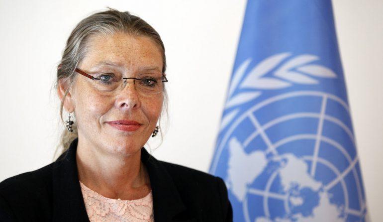 BM koordinatörü Pernille Kardel, Lübnan siyasetçilerine, Hizbullah dahil olmak üzere tüm silahlı örgütlere yönelik silahsızlanma operasyonu hedeflenen bir milli birlik hükümeti yapmaları hususunda çağrıda bulundu.