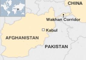 Çin-Afganistan Sınırı ve Vahan Koridoru