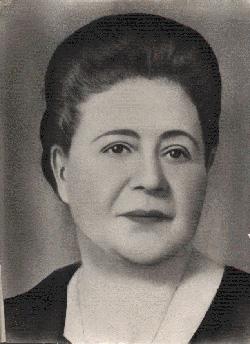 Sabiha Sertel portresi