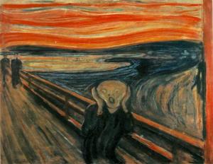 The Scream by Edward Munch