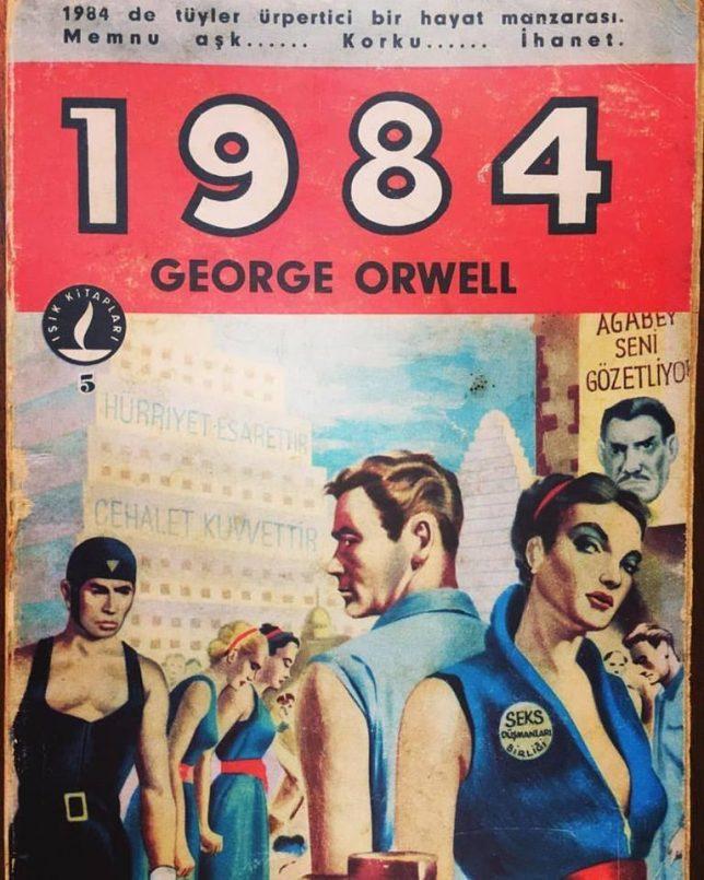 1984 George Orwell Türkçe İlk Kapak