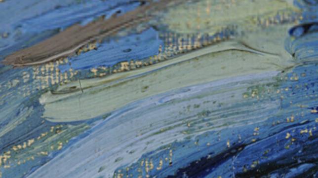 Brush strokes Vincent van Gogh