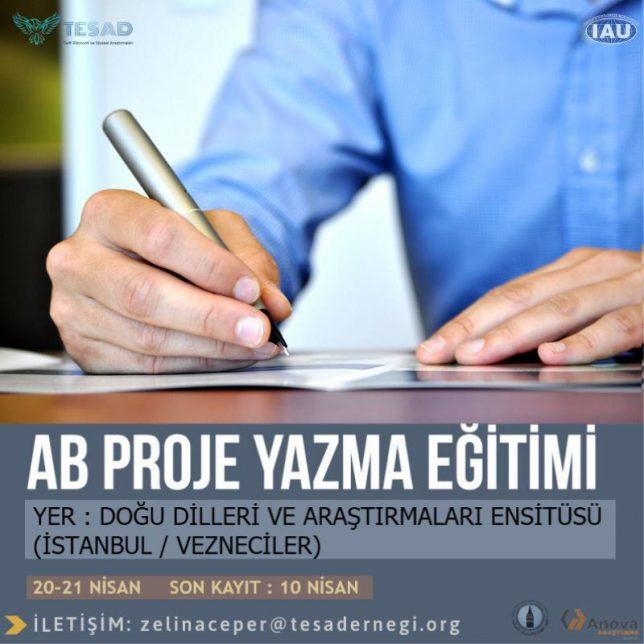 ab proje yazma eğitimi tesad