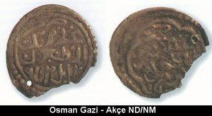 Osman Gazi - Akçe