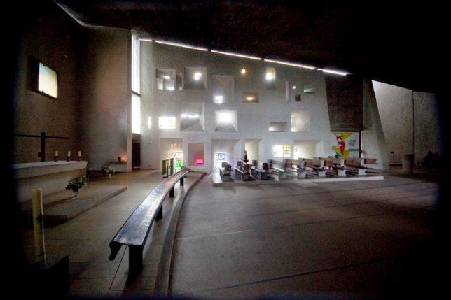 Ronchamp Şapeli Le Corbusier