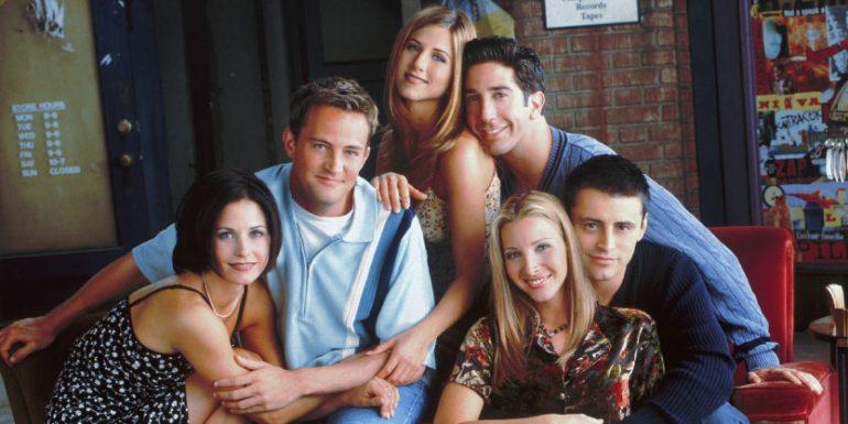 friends sitcom ross
