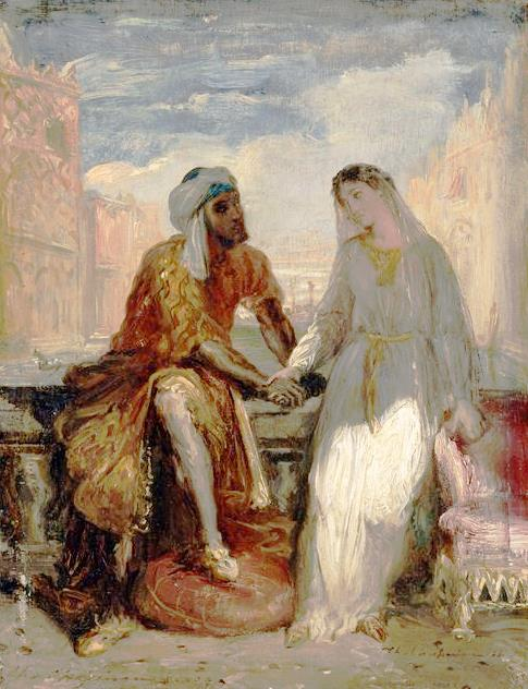 Othello_and_Desdemona_in_Venice_by_Théodore_Chassériau
