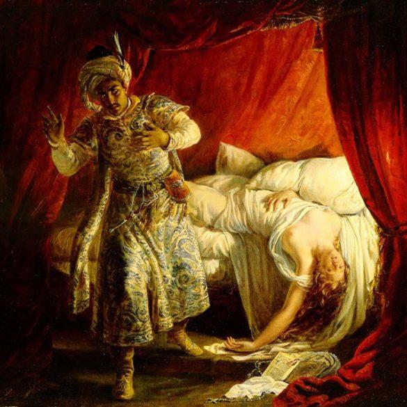 Othello & Desdemona