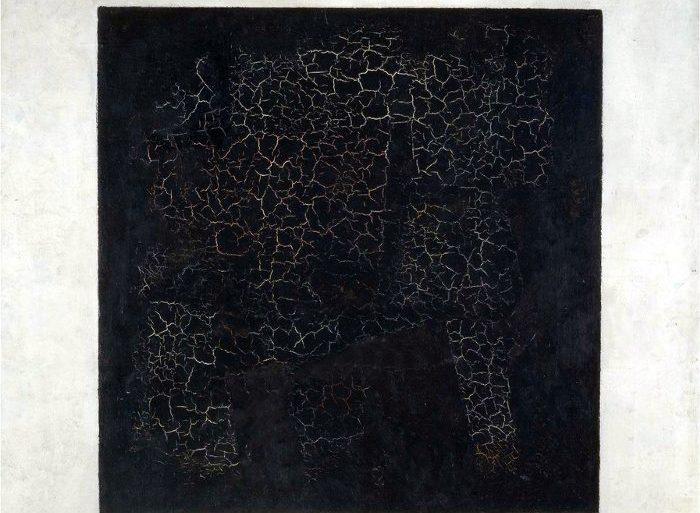 Siyah Kare (Black Square) (1915), Kazimir Malevich.